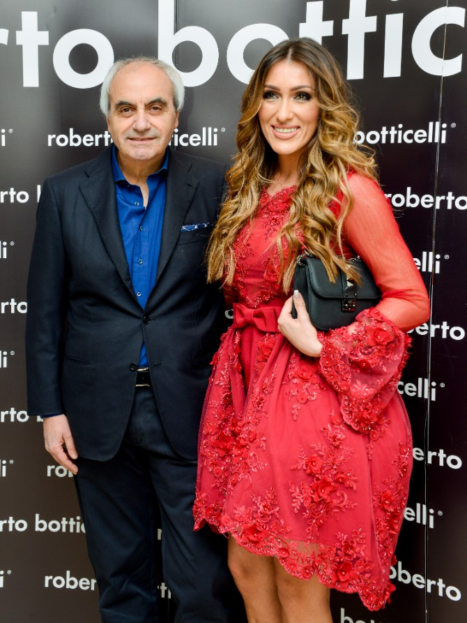 Botticelli i Hana Beograd posetio jedan od najboljih modnih znalaca   Roberto Botičeli