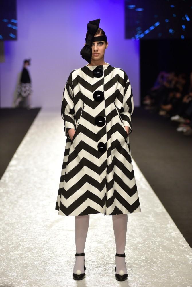 Budislava Keković Originalno drugo veče Belgrade Fashion Week a
