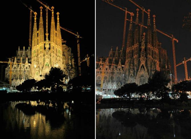 Earth Hour u Barceloni WWF Ugasi svetlo na sat za očuvanje naše planete