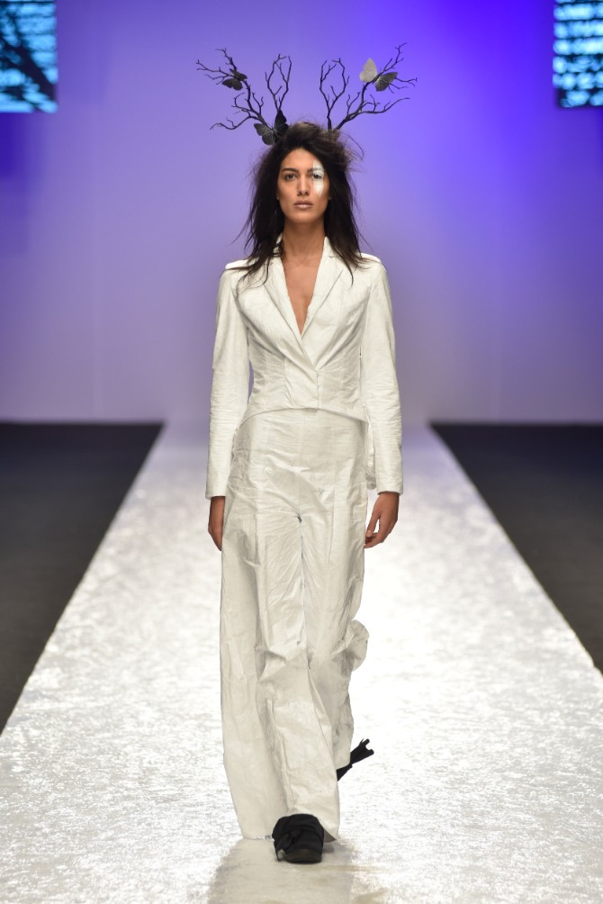 Jasmina Vujović Originalno drugo veče Belgrade Fashion Week a