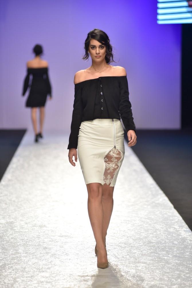 Jasna Nikolić Originalno drugo veče Belgrade Fashion Week a