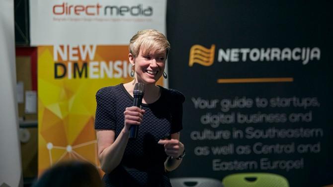 Ketrin Ferari Simon Namics Belgrade Razvoj domaće IT industrije je u rukama žena!