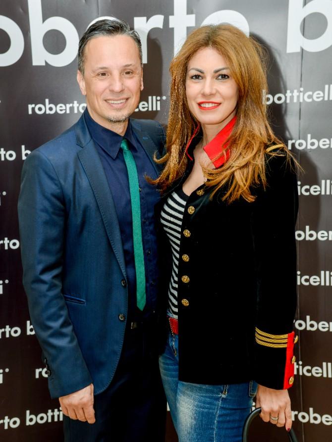 Lena Bogdanovic i Nenad Radujevic Beograd posetio jedan od najboljih modnih znalaca   Roberto Botičeli