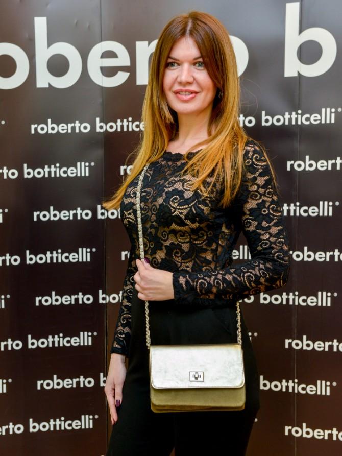 Milica Djokic Beograd posetio jedan od najboljih modnih znalaca   Roberto Botičeli