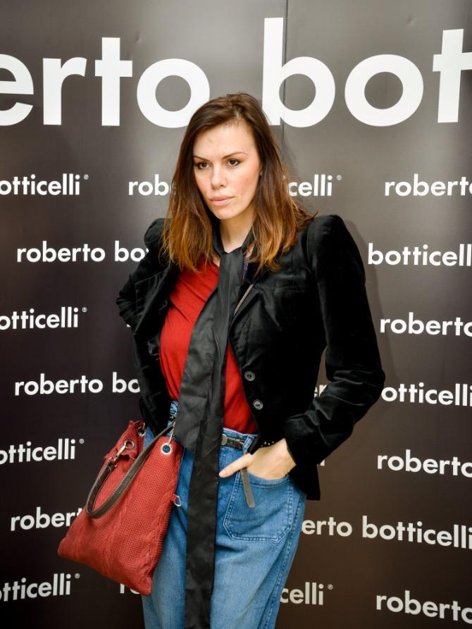 Nadezda Jokic Beograd posetio jedan od najboljih modnih znalaca   Roberto Botičeli