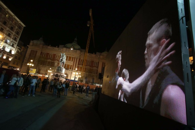 Prenos u ivo Trg Republike Otvoren Beogradski festival igre