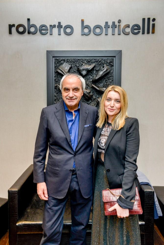 Roberto Botticeli i Andjelka Prpic Beograd posetio jedan od najboljih modnih znalaca   Roberto Botičeli