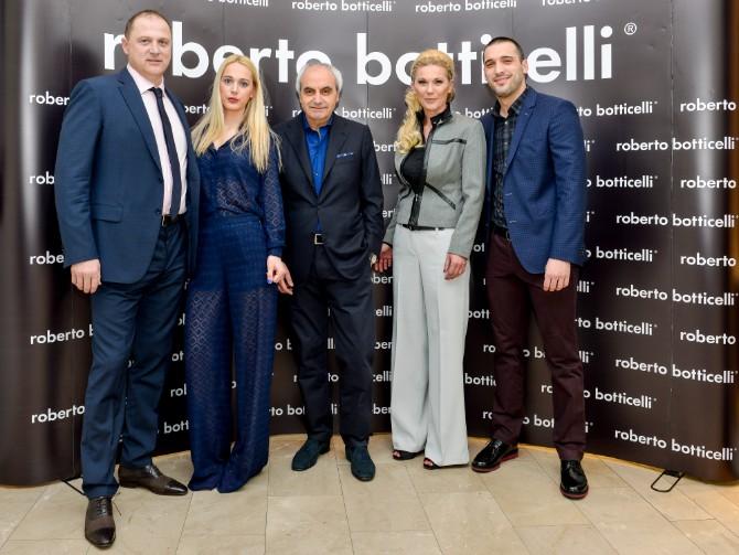 Roberto Botticelli sa porodicom Bozovic Beograd posetio jedan od najboljih modnih znalaca   Roberto Botičeli