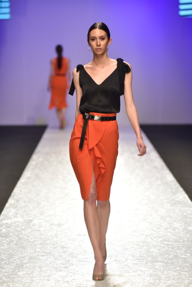 Tijana Žunić 1 Originalno drugo veče Belgrade Fashion Week a