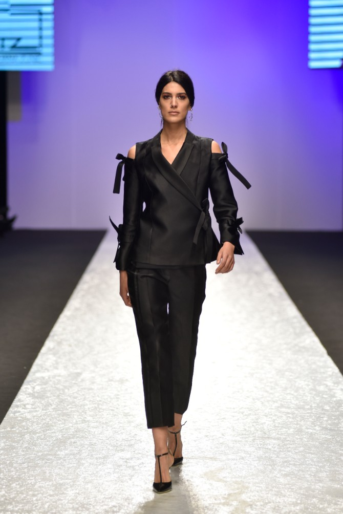 Tijana Žunić 3 Originalno drugo veče Belgrade Fashion Week a