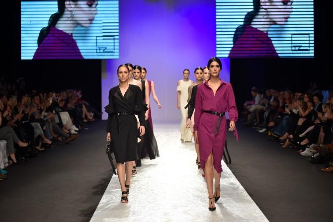 Tijana Žunić 4 Originalno drugo veče Belgrade Fashion Week a