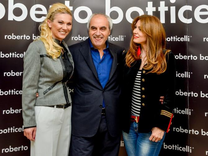 Vera Bozovic Roberto Botticelli i Lena Bogdanovic Beograd posetio jedan od najboljih modnih znalaca   Roberto Botičeli