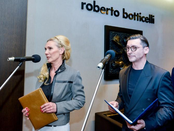 Vera Bozovic i Bosko Jakovljevic Beograd posetio jedan od najboljih modnih znalaca   Roberto Botičeli