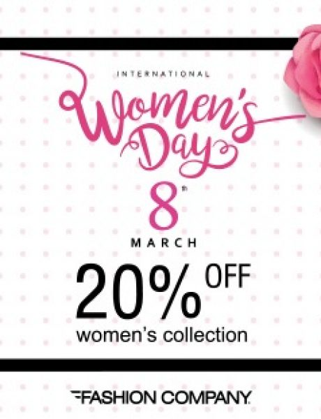 Dan žena u prodavnicama Fashion Company