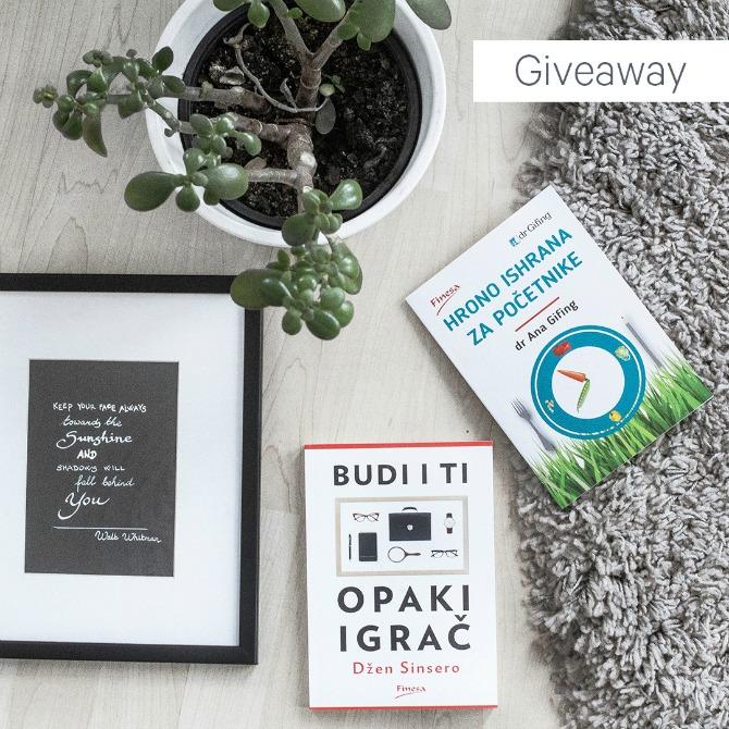 instagram giveaway 1 Instagram Giveaway: Osvoji knjige koje će potpuno PROMENITI tvoj način života!