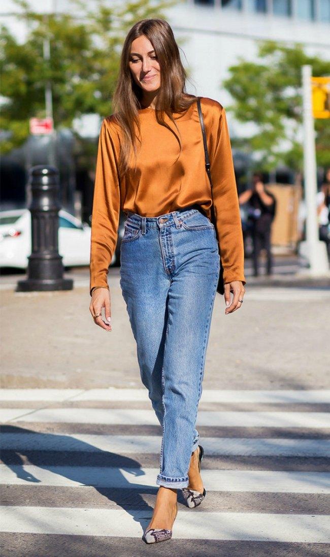 mom 1 Jednostavni, a trendi načini da nosiš mom džins ovog proleća