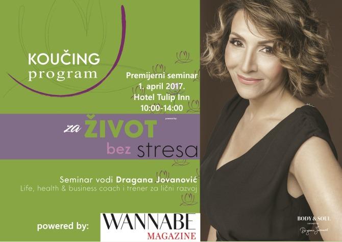 seminar dragane jovanovic 1 Eliminišite stres iz svoje svakodnevice na seminaru Dragane Jovanović