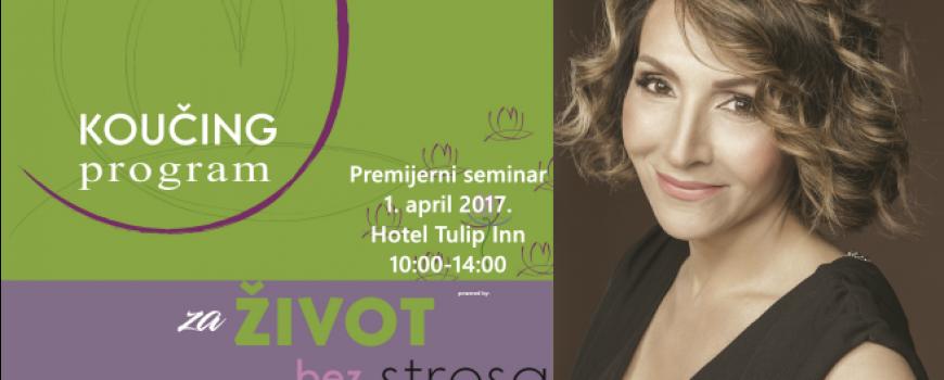 Eliminišite stres iz svoje svakodnevice na seminaru Dragane Jovanović