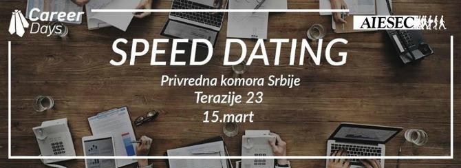 speed dating Speed dating om do posla? Da, moguće je!