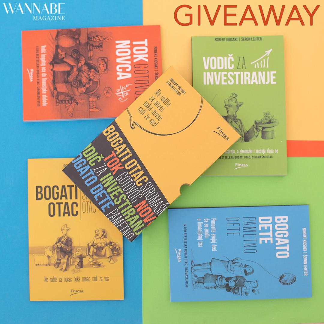 3 1 Facebook giveaway: Imaš priliku da osvojiš knjige koje će te naučiti kako novac da radi za tebe