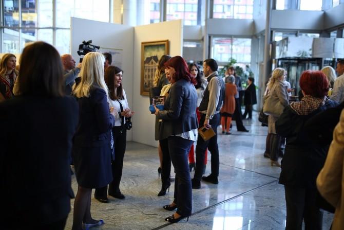 Otvaranje izlozbe Odabrana dela nacionalnih slikara prvi put pred beogradskom publikom