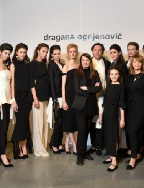 Dragana Ognjenović zatvorila 41. Belgrade Fashion Week