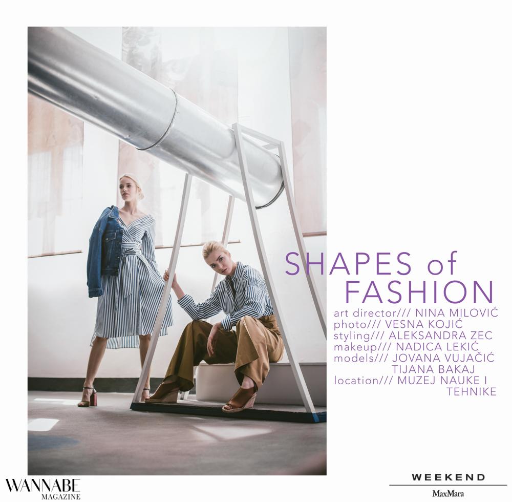 max and co sajt Wannabe editorijal: Shapes Of Fashion