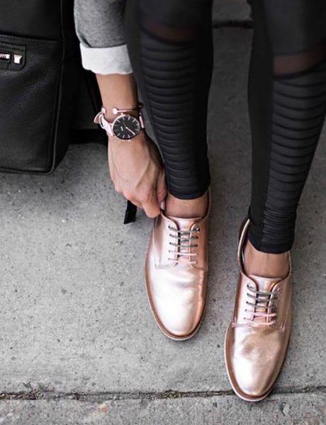 Kako da muške cipele nosiš na ženstven način