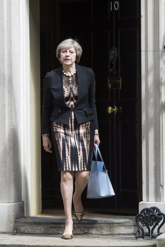 tereza mej 5 Stilska mantra britanske premijerke Tereze Mej za sve moćne žene