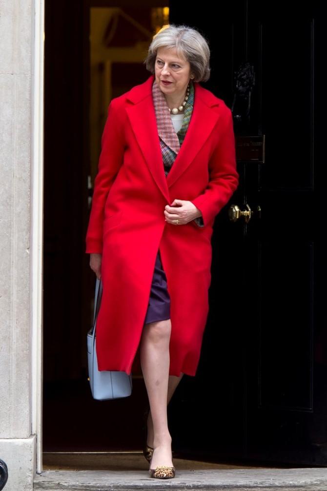 tereza mej 7 Stilska mantra britanske premijerke Tereze Mej za sve moćne žene