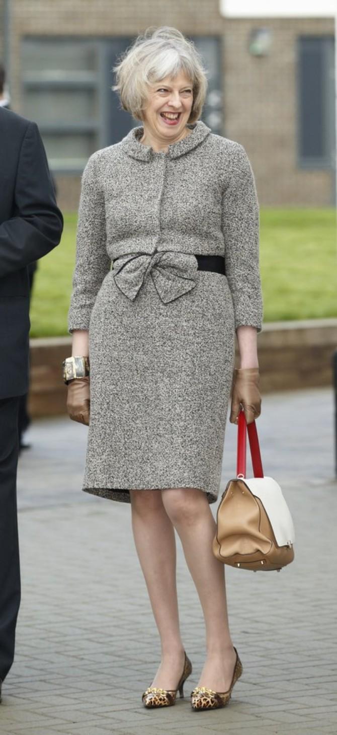 tereza mej 9 Stilska mantra britanske premijerke Tereze Mej za sve moćne žene
