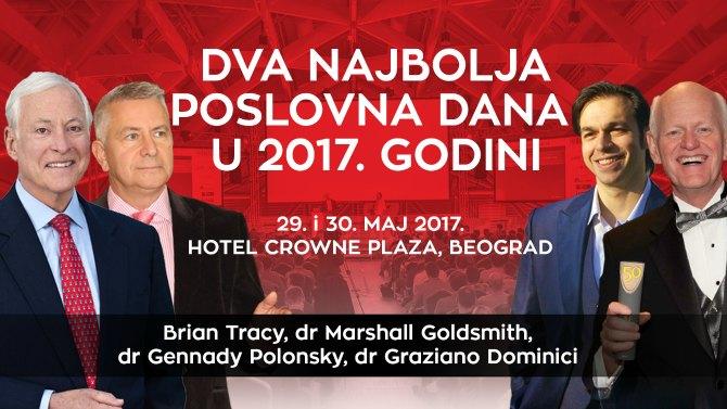 Brian Tracy event 2 Dva najbolja poslovna dana u Beogradu uz Brajana Trejsija i Maršala Goldsmita