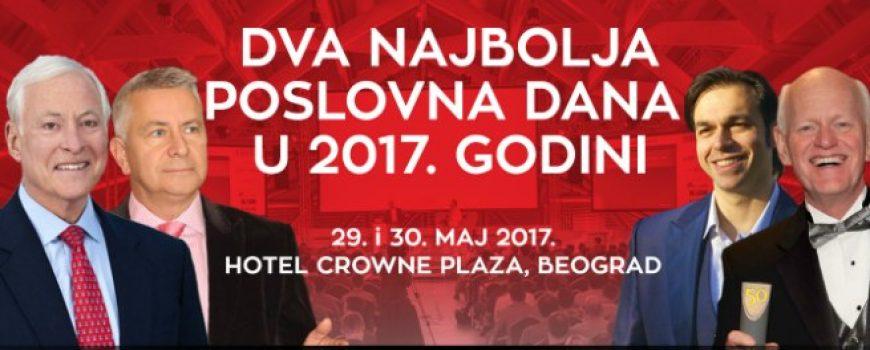 Dva najbolja poslovna dana u Beogradu uz Brajana Trejsija i Maršala Goldsmita