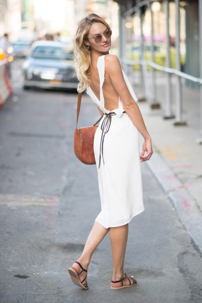 Candice Swanepoel 1 Najbolje street style kombinacije Viktorijinih anđela