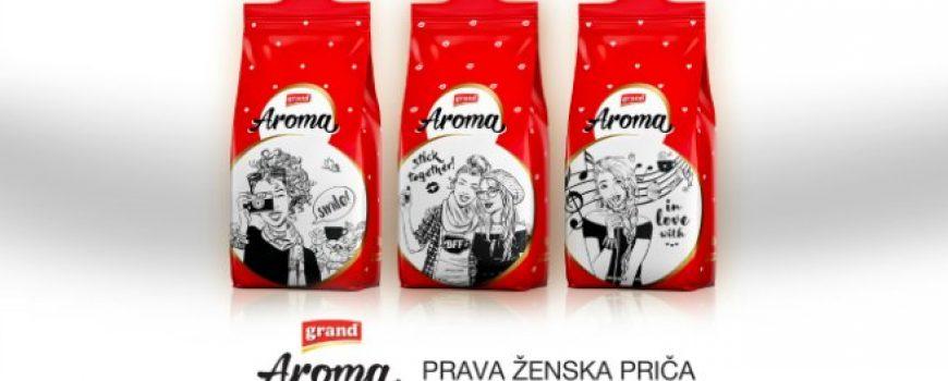 Novo Grand Aroma pakovanje: Prava ženska priča