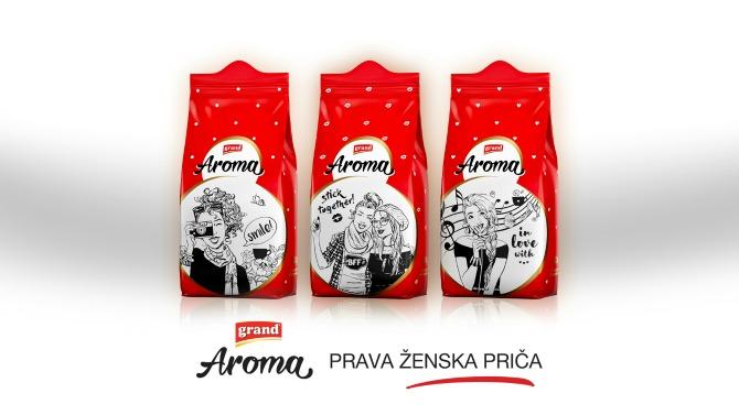 Grand Aroma Novo Grand Aroma pakovanje: Prava ženska priča