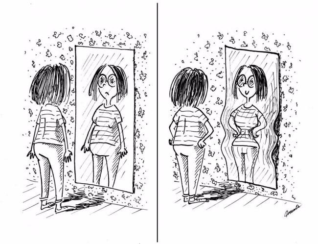 bella 8 10 fenomenalnih ilustracija koje tačno dočaravaju kako se žene osećaju tokom onih dana