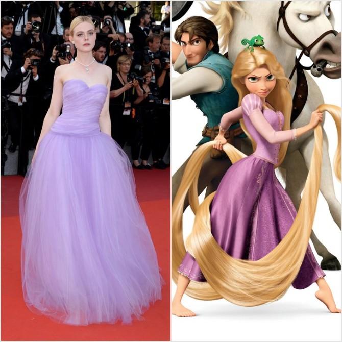 el faning Najlepše haljine inspirisane Diznijevim princezama koje smo videle u Kanu