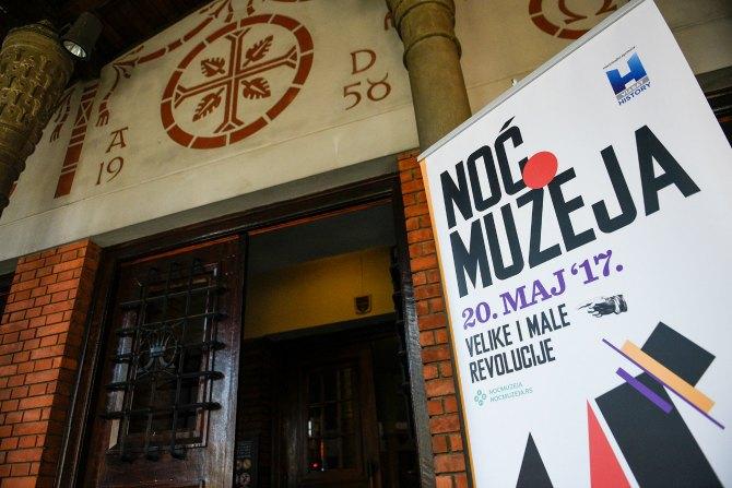 noć muzeja 2 Velike i male revolucije umetnosti i kulture: Otvara se 14. Noć muzeja u Srbiji