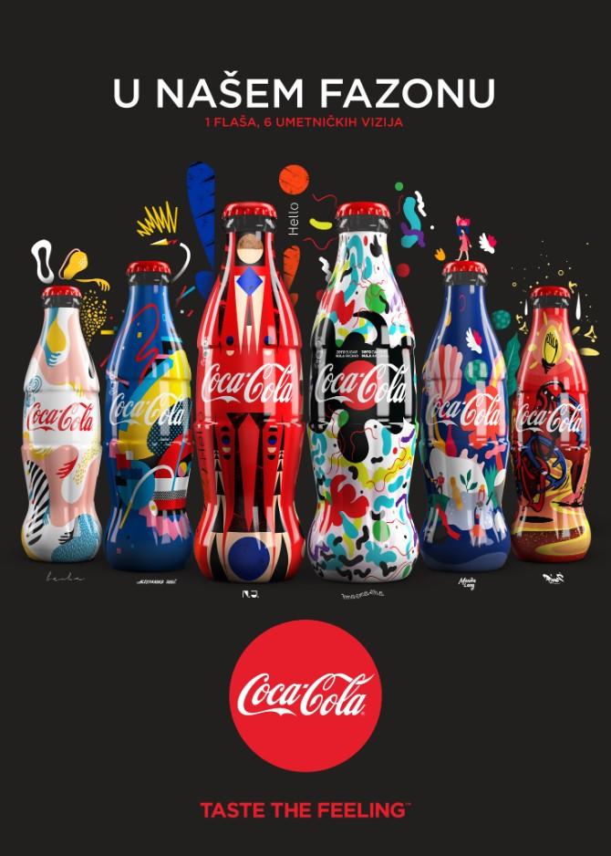 Coca Cola Limited Edition Bottles 2.0 Coca Cola predstavila ograničenu seriju dizajniranih flašica inspirisanih vrlinama ljudi u srbiji