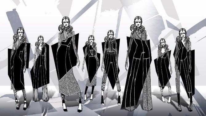 HiddenEmotions 3godina BAFE Studenti Modnog dizajna sa Univerziteta Metropolitan na desetom BAFE u