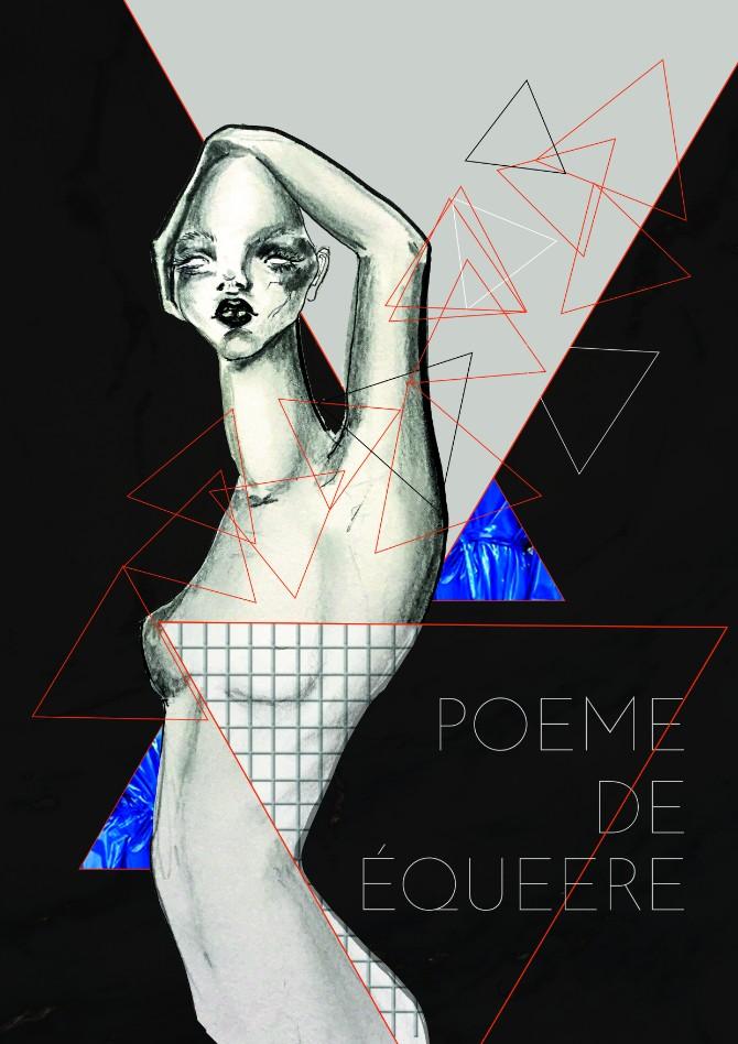 """ILUSTRACIJA """"Poeme de Équeere""""  1 godina BAFE Studenti Modnog dizajna sa Univerziteta Metropolitan na desetom BAFE u"""