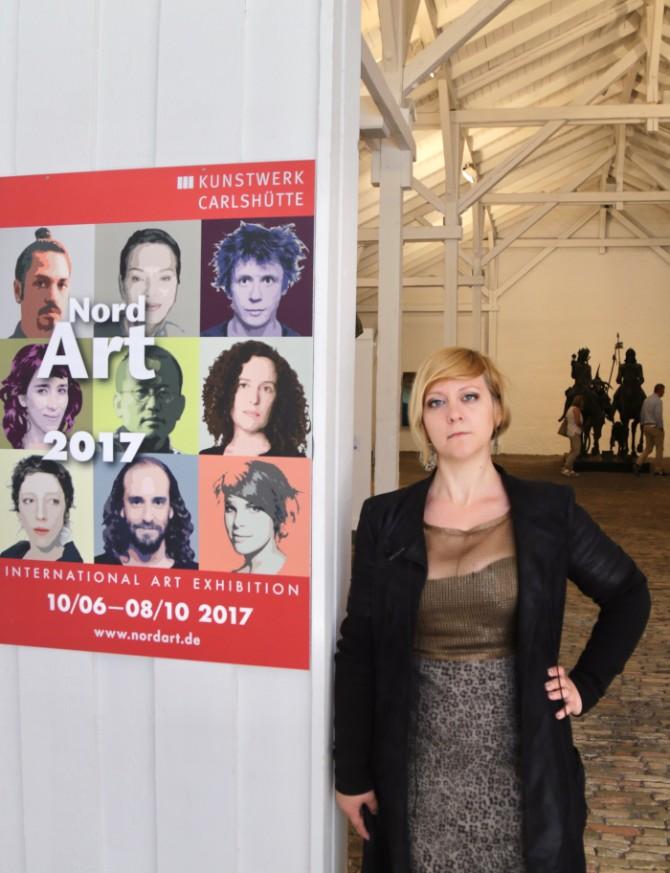 ivana živić 1 Ivana Živić, umetnica koja nas je predstavila na NordArt izložbi