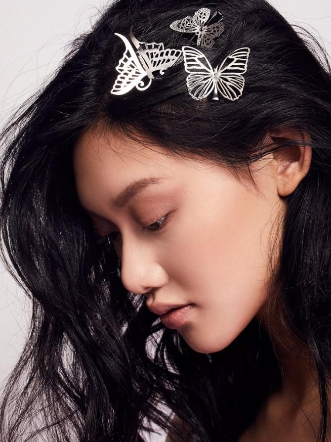 leptir2 Šnale za kosu u obliku leptira se vraćaju u modu, ali izgledaju bolje nego tokom devedesetih!