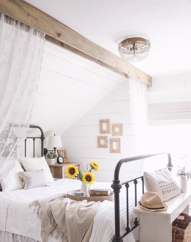 uredjenje doma 1 Kako da svoju spavaću sobu pretvoriš u rustičnu oazu?