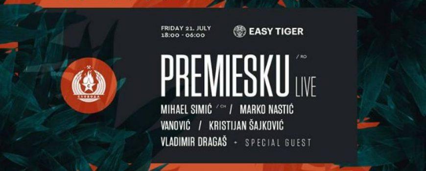 Easy Tiger predstavlja Premiesku i žurku do zore + GIVEAWAY