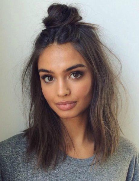 6 šik načina da stilizuješ kosu srednje dužine
