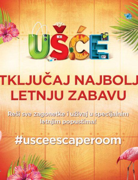 Otključaj svoj UŠĆE popust: Escape Room tokom leta ispred UŠĆE Shopping Center-a