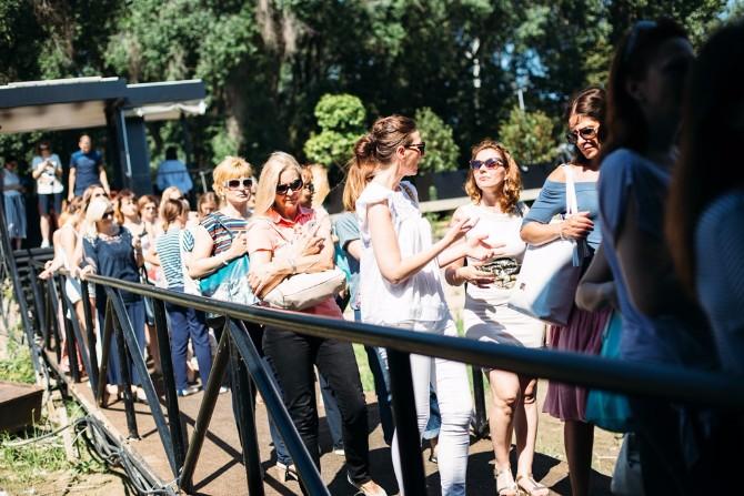 guzva na ulazu u Port zene svih generacija Dragana Jovanović na 23. Danu za Vas okupila učesnice oko teme autentičnosti i ženske snage