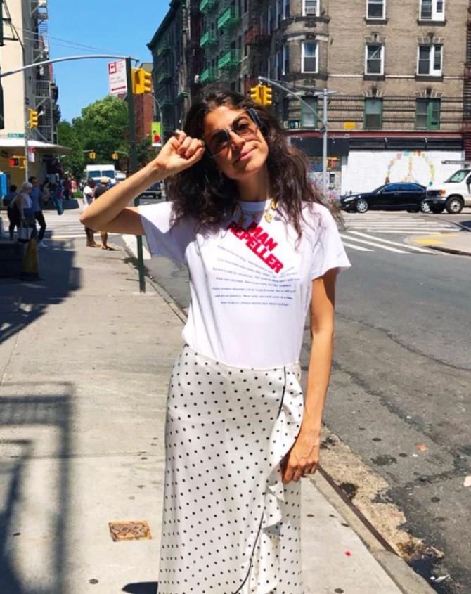 haljina sa tufnama.0 Mini + Maxi: Kako da nosiš tufne do kraja leta